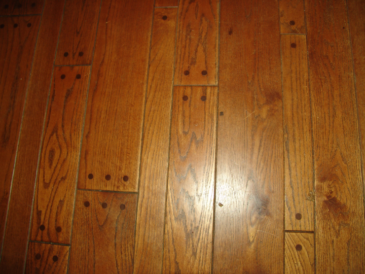Random Plank Hardwood Floors