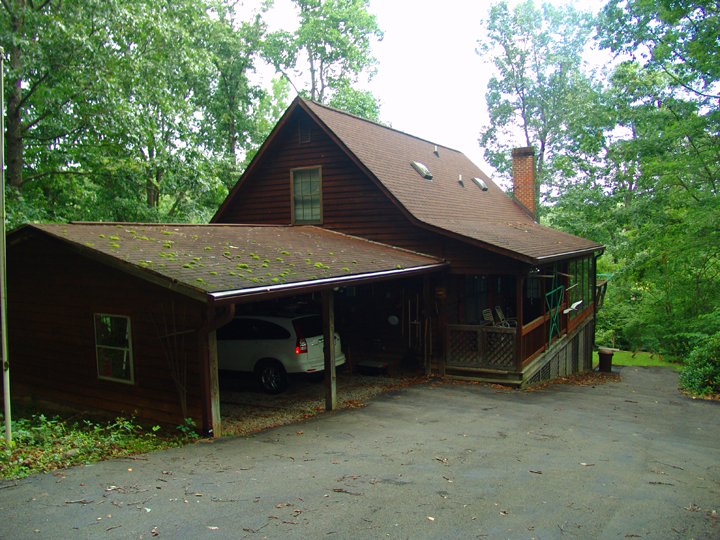 Cedar Cape with 2 Car Garage