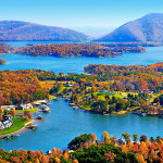 smith mountain lake autumn