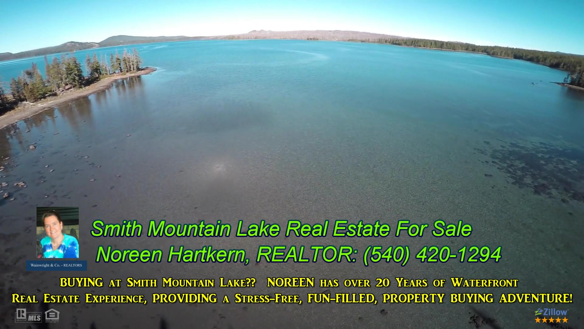 BUYING at Smith Mountain Lake? Noreen has over 20 Years of Waterfront Real Estate Experience, and Provides a Stress-Free, FUN, Property Buying Adventure! FACEBOOK Message Me to Get On My Private Smith Mountain Lake MLS List and Smith Mountain Lake Real Estate Insiders Newsletter with Secret Tips and Tricks on How to Get Your Smith Mountain Lake Waterfront Home, Luxury Estate, Log Home, OR Waterfront Rental Home and CLOSE ON IT in As Little As 3 Weeks!!! *** Schedule Your FREE Strategy Session Today! Call or Text NOW 540-420-1294 ***